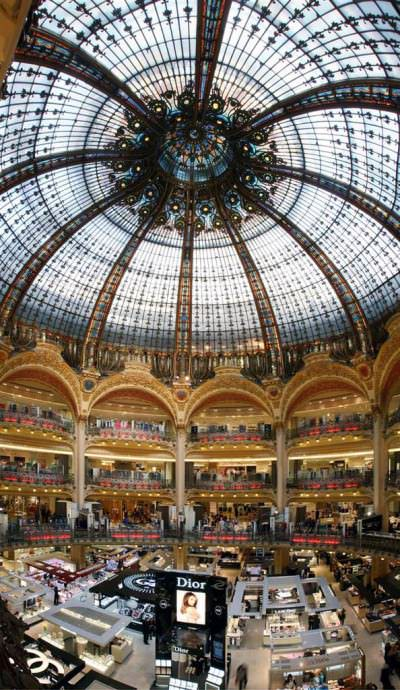 Bien connu The Perfect Paris Shopping Day: Galeries Lafayette - West  XS44