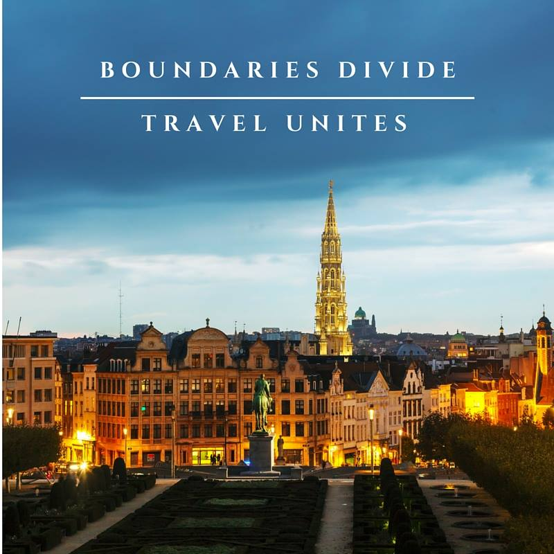 Boudaries Divide travel unites